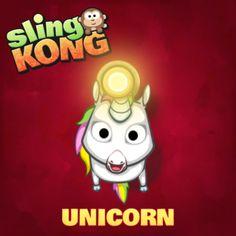 I got Unicorn! #SlingKong http://onelink.to/slingkong