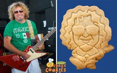 Sammy Hagar - Custom Cookies - Promotions - #Sammy #Hagar