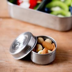 LunchBots Dips Stainless Steel Condiment Containers