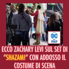 Svelato il costume di Shazam! . . . . . #dc #comics #dccomics #dcitaly #dcitalia #dcita #dc_italy #superman #batman #lanternaverde #wonderwoman #uomodacciaio #aquaman #flash #theflash #joker #fumetti #supereroi #fact #curiosità #marvel #eroi #supereroe #dceu #universodc #batmanvssuperman @zacharylevi #shazam