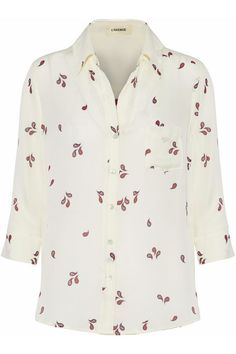 Ryan Shirt in Paisley Print by L'Agence