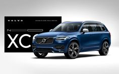 Volvo Cars the All-new XC90 launch I on Behance