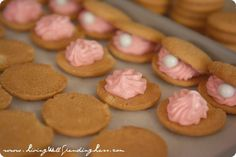 How to Make Oyster Pearl Cookies for the parable of the pearl