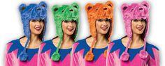 These new Grateful Dead Dancing Bear Furry Hats are fun to wear year round! $29.99 - Grateful Dead - Dancing Bear Furry Flap Hat
