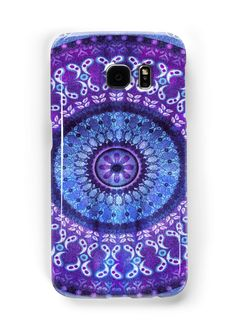 Boho Mandala Patterned with Tie-Dye Texture. • Also buy this artwork on phone cases, apparel, stickers, and more.