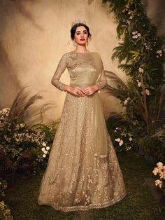 Top 5 Trendy Anarkali Suits Design for Any Occasion - Inddus.com Robe Anarkali, Bridal Anarkali Suits, Silk Anarkali Suits, Raw Silk Lehenga, Eid Dresses, Indian Dresses, Dresses Online, Designer Anarkali Dresses, Designer Gowns