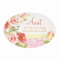 Carson Home Accents 92382 PlateYou Are LovedAuntMini With Stand -- You can find out more details at the link of the image. (Note:Amazon affiliate link)