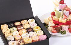 Cute Cake Rolls ~ Looks yummy !