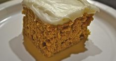 """""""Point-less"""" Meals: Frosted Pumpkin Cake"""
