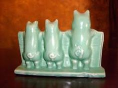 3 Pigs McCoy pottery