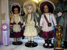 Emily Hart dolls, E12J Jumeau, Tete Jumeau, & Paris Bebe Jumeau all top award winners in International Competitions