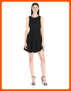 BCBGeneration Women's Triangle Front Dress, Black, 8 - All about women (*Amazon Partner-Link)