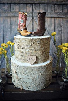 Items similar to Western-boots-wedding-cake topper-cowboy-cowgirl-bride-groom-boots-hat-rustic-wedding decor-personalized-country-Mr and Mrs-hunting-horse on Etsy Cowboy Wedding Cakes, Wedding Cowboy Boots, Country Wedding Cakes, Rustic Wedding, Wedding Ideas, Wedding Set, Purple Wedding, Perfect Wedding, Wedding Stuff