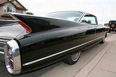 1960 Black Cadillac