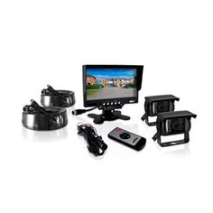 Pyle PLCMTR72 Weatherproof Rearview Backup 12-24V DC 2-camera Monitor System With 7-inch Monitor for Buses/Trucks/Trailer/Vans   Overstock.com Shopping - The Best Deals on Car A/V Accessories