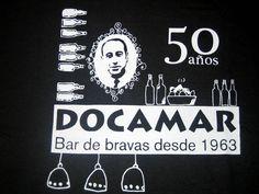 Cartel del 50 aniversario del bar Docamar / Foto: Juan Carlos Morales en www.actualidadgastronómica.es