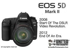 DID CANON KILL THE 5D MKII LAST YEAR  Tribute to Canon 5D MKii 2008 - 2012