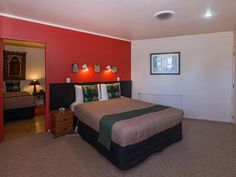 Large Family Suite with Massage Shower/Spa - Rotorua Accommodation Rotorua New Zealand, Spa Massage, Serviced Apartments, The Originals, Bed, Furniture, Home Decor, Stream Bed, Interior Design
