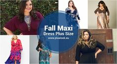 Plus size fall maxi dresses 2017 - http://pluslook.eu/trends/plus-size-fall-maxi-dresses-2017.html. #dress #woman #plussize #dresses