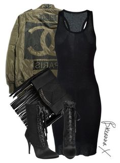 A fashion look from October 2015 by breannamules featuring Haider Ackermann Steve Madden and Giuseppe Zanotti Black Women Fashion, Look Fashion, Autumn Fashion, Fashion Outfits, Womens Fashion, Fashion Trends, Ladies Fashion, Fashion Edgy, Fashion Details