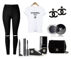 """""""Chanel"""" by martineeikefjord on Polyvore featuring Chanel"""