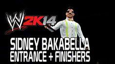 WWE 2K14 - Sidney Bakabella Entrance + Finishers