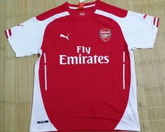 Thailand Quality Arsenal Home Football Shirts 14/15