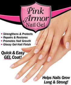 Pink Armor™ Nail Gel, this stuff works!!