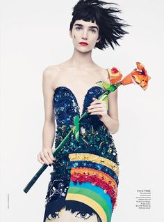 em2 Vogue Australia March 2014   Janice Alida by Emma Summerton  [Editorial]