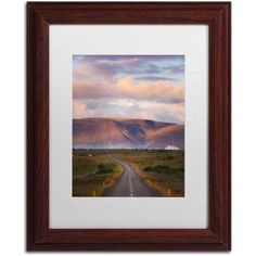 Trademark Fine Art 'Always on my Mind' Canvas Art by Philippe Sainte-Laudy, White Matte, Wood Frame, Size: 11 x 14, Multicolor