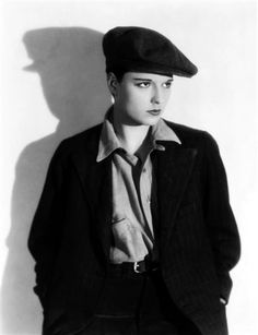 Louise Brooks in Beggars of Life, 1928.