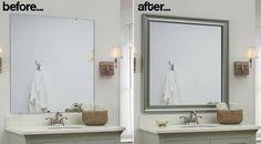 die besten 25 spiegel ohne rahmen ideen auf pinterest altholz spiegel rustikale spiegel und. Black Bedroom Furniture Sets. Home Design Ideas