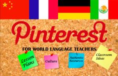 Language Teachers' Cafe: Pinterests
