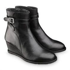 a940e1e92b6c Smart sort skind støvlet m kilehæl og rågummisål fra Angulus Sorting