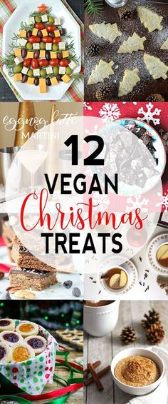 12 Delicious Vegan Christmas Recipes These Tasty Vegan Christmas Recipes Are Perfect For Holiday Get Togethers Or Christmas Movie Night. Look at The Dairy-Free Sweets, Appetizers, And Drinks To Celebrate The Holidays Via Vnutritionist Vegan Christmas Desserts, Vegan Thanksgiving, Vegan Christmas Party, Vegetarian Christmas Recipes, Healthy Christmas Treats, Vegan Christmas Dinner, Healthy Holiday Recipes, Christmas Brunch, Simple Recipes