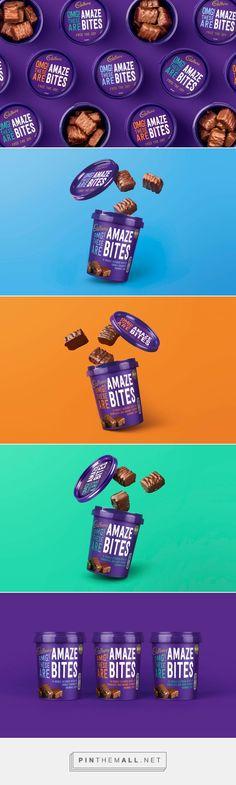 Cadbury Amaze Bites Designed by Robot Food #packaging