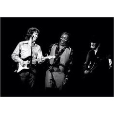 Eric Clapton, Muddy Waters and Edgar Winter