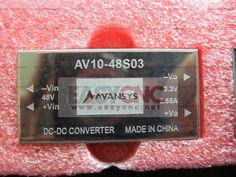 AV10-48S03 Module IGBT Transistor www.easycnc.net