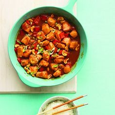 Try this quick and tasty Kung pao chicken recipe tonight—dinner will be on the table in just 15 minutes. Find easy dinner recipes at Chatelaine.com!