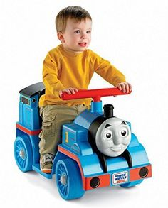 Power Wheels Thomas and Friends Thomas the Tank Engine with Easy Push Button