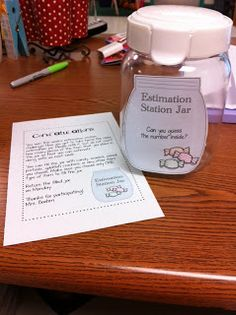 Sunny Days in Second Grade: Estimation Station