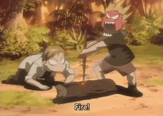 @gravitty Have you seen Fullmetal Alchemist: Brotherhood? Just wanted to ask before I pin a ton of stuff :P