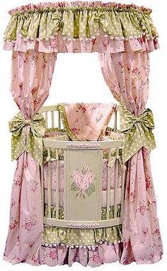 cuna para dormitorio de princesas