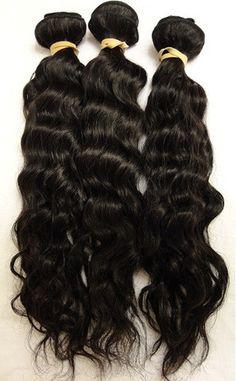 Virgin Peruvian Wavy Hair Extensions