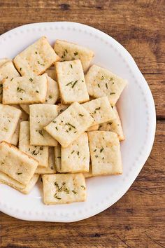 If making your own crackers has seemed a daunting task, don't be intimidated by this parmesan and rosemary cracker recipe. It's simple, straightforward, and still manages to present as a rustic, artisanal snack! Get the recipe here at Foodal: https://foodal.com/recipes/appetizers/parmesan-rosemary-crackers/