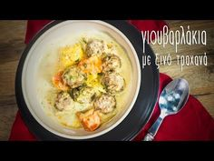 Γιουβαρλάκια με τραχανά | Mamatsita - YouTube Meat, Chicken, Food, Youtube, Essen, Meals, Yemek, Youtubers, Eten