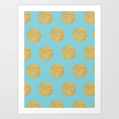 Breakfast at Tiffany's Art Print by Color & Theory - $15.00