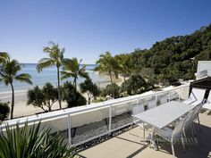 Right on Noosa Beach and only $5,150,000 Sunshine Coast, Real Estate, Patio, Beach, Outdoor Decor, Home Decor, Decoration Home, Terrace, The Beach