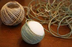 crafty centerpiece balls