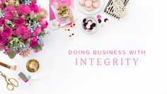 doing business with integrity